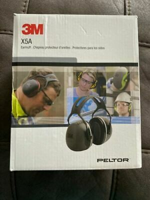 3m Peltor X5a Over-the-head Ear Muffs Noise Protection Nrr 31 Db Construct...
