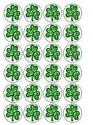 Shamrock Cake Decorations