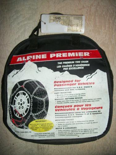 Alpine Premier Tire Chains Ebay
