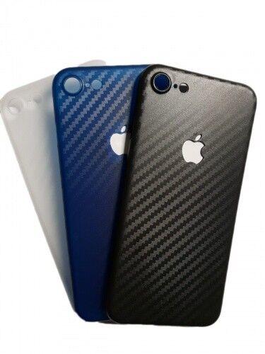 Ultraslim Schutzhülle Case Bumper Carbon für iPhone 7 8 X Xr Xs