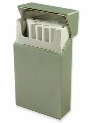 (Hard Box Full Pack Cigarette Case (100's) (Ships Assorted colors))