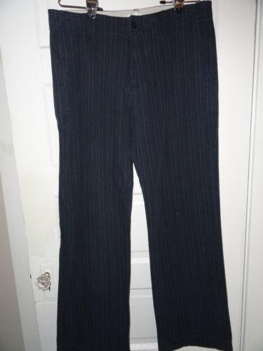 Mens Pinstripe Pants Ebay
