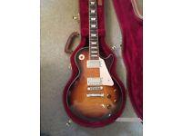 Gibson Les Paul Standard USA + Gibson Hard Case 2010 in Desert burst