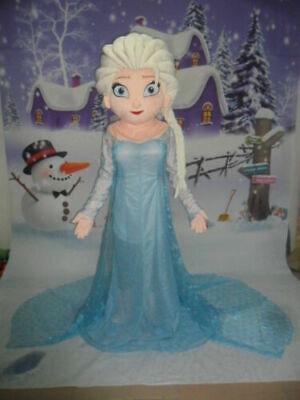 Frozen Characters Costume (Elsa Princess Frozen Mascot Costume Cartoon Character Christmas Complete)