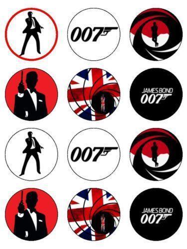 007 Cake Topper Ebay