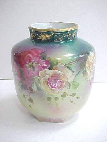Royal Bayreuth Vase Ebay