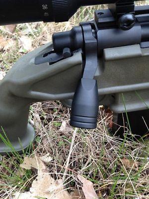Remington 700 Black Bolt on Knob Tactical Knob Alu. with 2 G