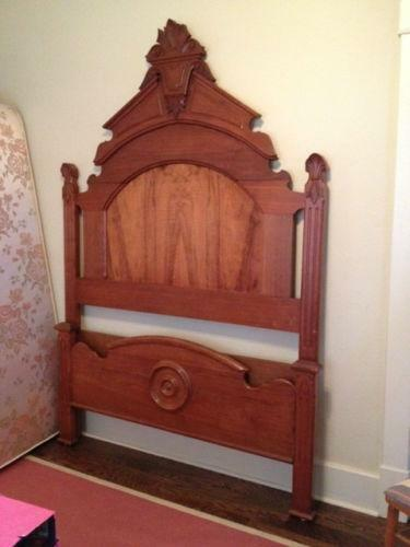 Victorian Walnut Bed Ebay