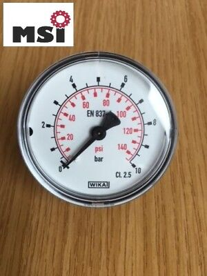 Manometer waagrecht hinten Ø 40 50 63 Druckmesser Vakuum auch Glycerin ab 3,99*