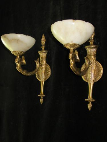 Art Deco Light Sconce Ebay
