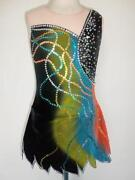 New Ice Skating Twirling Baton Dress