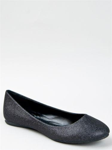 womens black flat dress shoes ebay