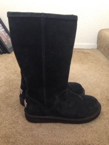 womens black ugg boots size 9 ebay