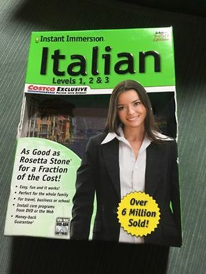 Instant Immersion Learn How To Speak Italian Levels 1 3