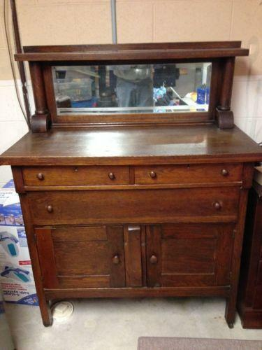 Antique Buffet Ebay