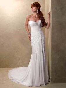 Beautiful Size 4 Maggie Sottoro 'Jacee' Wedding Dress
