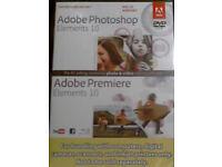 SEALED mini digital camera plus OEM Adobe Photoshop Elements 10 & Premiere Elements 10 full edition.