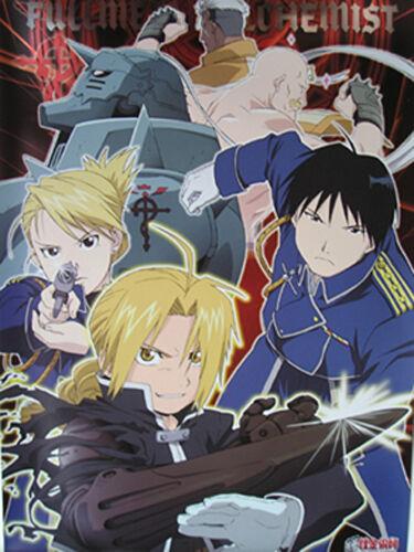 Fullmetal Alchemist Poster Paper Anime MINT