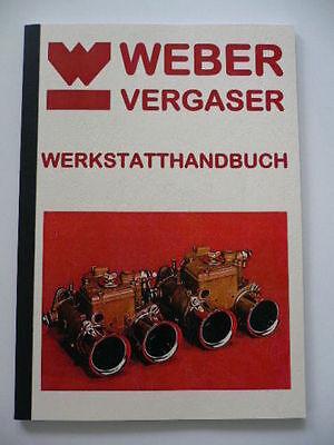 Weber Vergaser Buch Doppelvergaser Werkstatthandbuch, Einstellungen , DCOE DFA