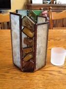 Wandkerzenhalter Glas
