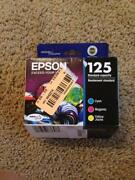Genuine Epson 125 Ink
