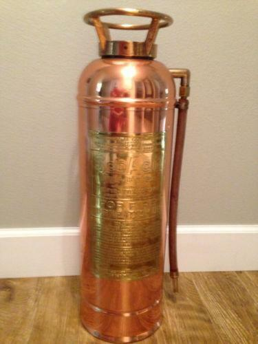Copper Fire Extinguisher   eBay
