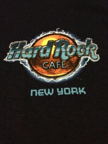 hard rock cafe t shirts new york ebay. Black Bedroom Furniture Sets. Home Design Ideas