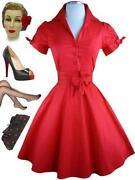 Plus Size 50'S Dresses