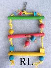 Wooden Ladder Bird Toys
