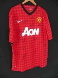 14b5b2e83 Signed Manchester United Football Shirts