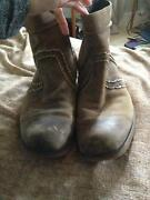 Mens Brown Boots 12