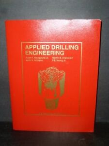 Applied Drilling Engineering $40 For oil and gas drilling