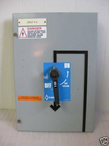 "General Electric GE Motor Control Center Door 21"" tall"