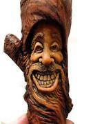 Carved Wood Head