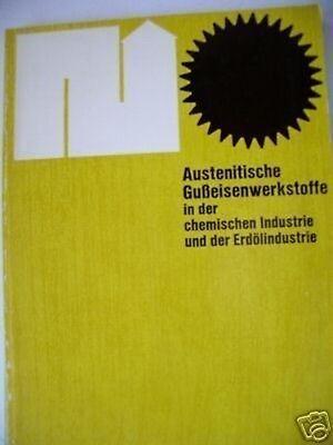 Austenitische Gußeisenwerkstoffe chemischen Industrie