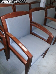 Used Office Furniture: Reception Guest Chairs starting at $50