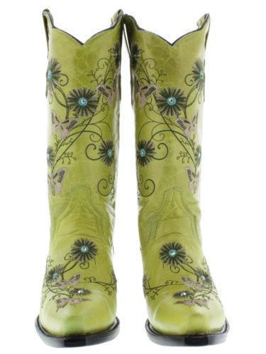 womens rhinestone cowboy boots ebay