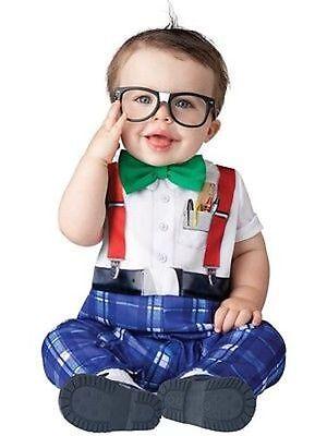 Garten Halloween-kostüm (Incharacter Kindergarten Nerd Schule Kleinkinder Süß Baby Halloween Kostüm 16045)