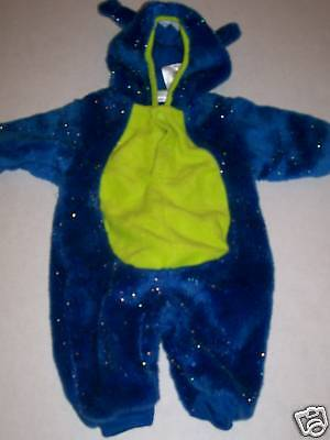 Childs Blue~Green TELETUBBY Halloween Costume M 3-6 mo](Kids Teletubbies Costume)