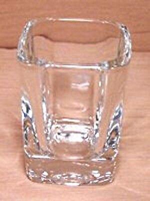 Square Prism Shot Glass 2 oz - Set of 2 - Taster Shooter - 8939