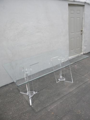 Lucite Dining Table Ebay