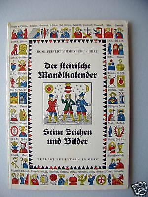 Der steirische Wandlkalender Zeichen Bilder Kalender