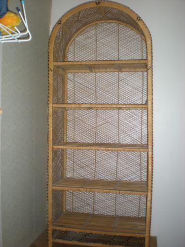 Wicker Shelf Unit Bookcases Shelving Amp Storage Ebay