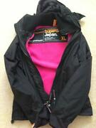 Womens SUPERDRY Hooded Jacket