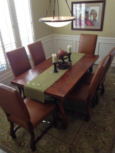Mahogany Dining Table And Chairs Ebay