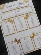Handmade Wedding Table Plan