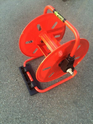 Compact  Metal Hose Reel Only Reel - For Window Cleaners