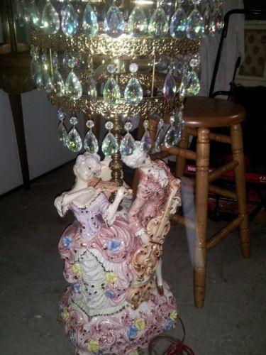 Capodimonte Lamp Ebay