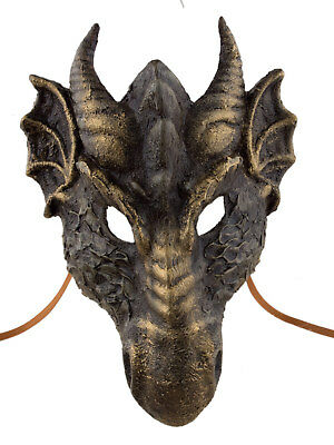 Mask Venetian Dragon -paper Mash-Disguise- Venice 2320 VG9
