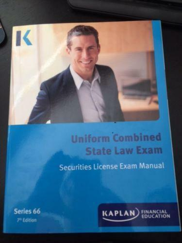 Kaplan Series 7 Securities License Exam Manual General Representative 10th 2015